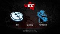 EG vs NewBee, WEC LAN Finals, LB Round 3, Game 2