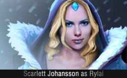 Scarlett Johansson as Rylai Dota 2