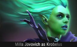 Milla Jovovich as Krobelus Dota 2