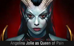 Angelina Jolie as Akasha Dota 2