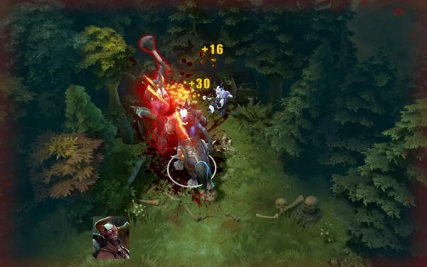 скриншот героя Centaur Warrunner в исполнении второго скилла