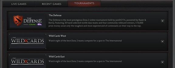 Новая система турниров Dota 2