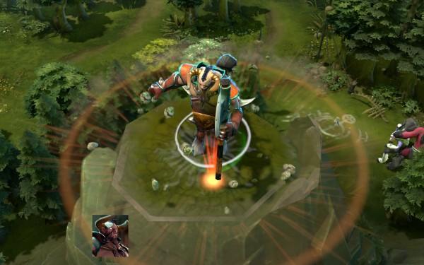 скриншот героя в исполнении стана Centaur Warrunner