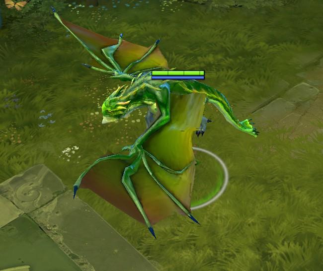 Dragon's form